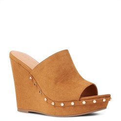 Macroon Platform Wedge Sandals