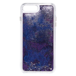 Galaxy Glitterfall Iphone 7 Plus Case