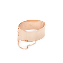 Handcuff With Chain Bracelet