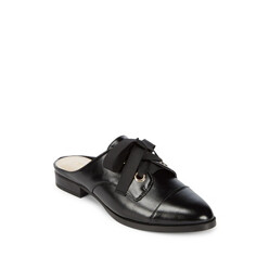 Henrii Lace-Up Leather Mules