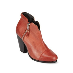 Cassius Leather Booties