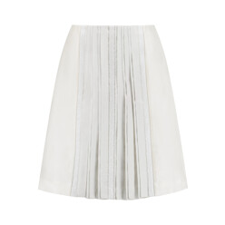 Noreen Embellished Pleated Wool And Silk-Blend Ski