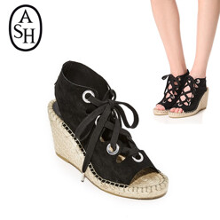 Patty Lace Up Wedges