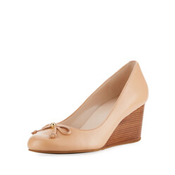 Elsie Bow Wedge Pump