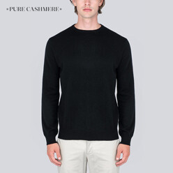 Men Crew Neck Sweater_Black
