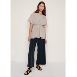 Witt Grey Oversized Top