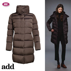 [17 F/W 신상품]Single Breasted Down Coat_D Brown
