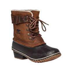 Winter Fancy Lacell Tan Snow Boot
