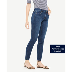 Curvy All Day Skinny Jeans In Mariner Wash