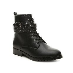 Wrapped Combat Boot
