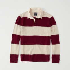 Rugby Polo Sweater