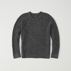 Shaker Crewneck Sweater