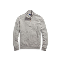 Merino Wool Half-Zip Sweater