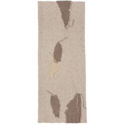 Beige Olina S Patch Scarf