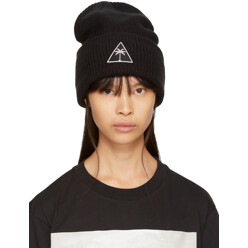 Black Mitchell  Ness Edition Palm Icon Beanie