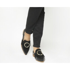 Fixated Ring Detail Loafers
