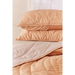 Nyla Quilted Satin Sham S...