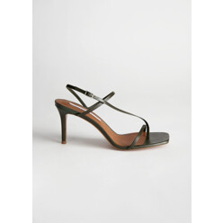 Cross Strap Stiletto Sand...