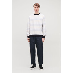 Relaxed Muted-Stripe Jump...