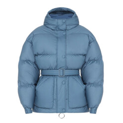 Michlin Belted Puffer Jac...